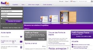 Société de livraison FedEX.